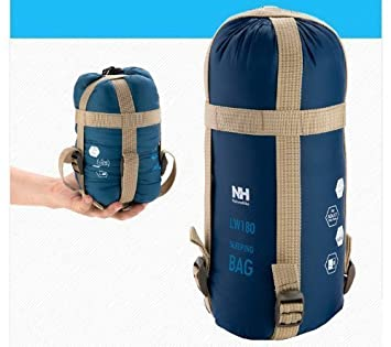 Escuela de Verano Camping saco de dormir al aire libre impermeable ligero para tiempo frío deporte aventurero senderismo, azul oscuro: Amazon.es: Deportes y ...