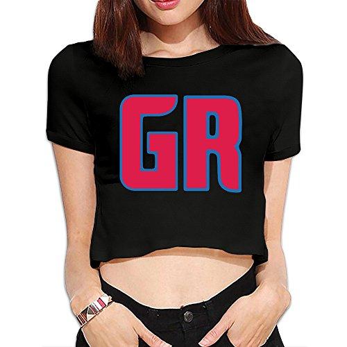 (Fashion Grand Rapids Drive Alternate Logos Basketball 2016 Crop Top Shirt)