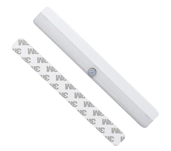Led Light Strip Motion Sensor Light Bar Wardrobe Portable Wireless