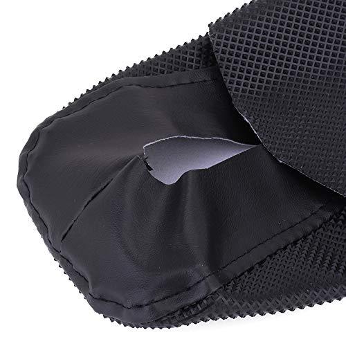 Universal Gripper Rubber Soft Seat Cover For K.T.M honda Yamaha Kawasaki Suzuki Husqvarna SX DRZ XCF RMZ KXF YZF 125 250 300 450 Motorcycle Dirt Bike Black