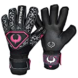 Renegade GK Triton Goalie Gloves with Removable Pro-Tek Fingersaves (Extra Durable) – Sizes 6-11, 3 Styles/Cuts (Roll, Hybrid) – 30 Day 100% Warranty – Unisex, Adult, Youth Soccer Goalies