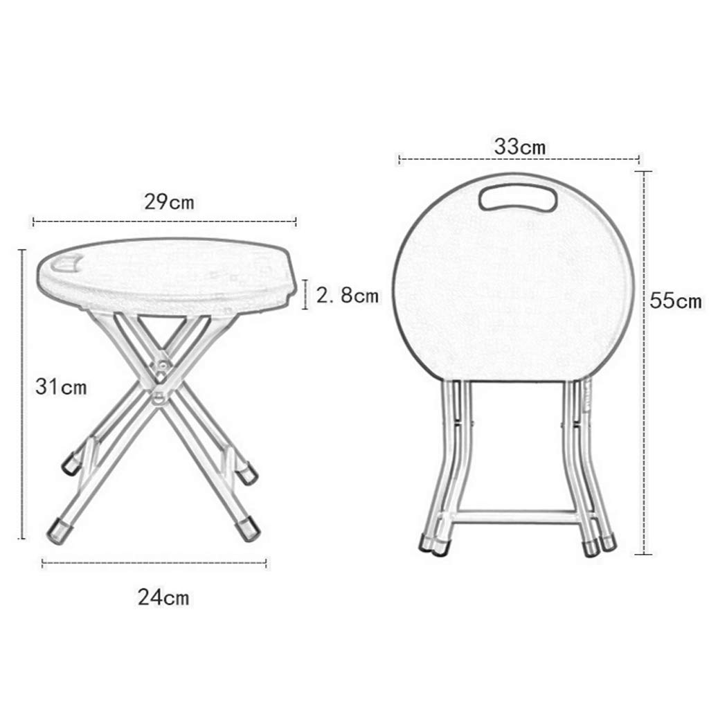 Amazon.com: SYF Simple Modern Household Folding Stool Thick ...