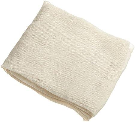 Algodón Natural Estameña Blanco suave blanqueado muselina tela de ...