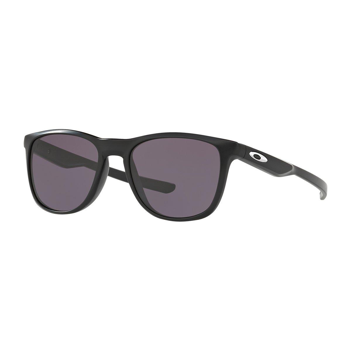 Oakley Men's Trillbe X Rectangular Sunglasses MATTE BLACK 52 mm