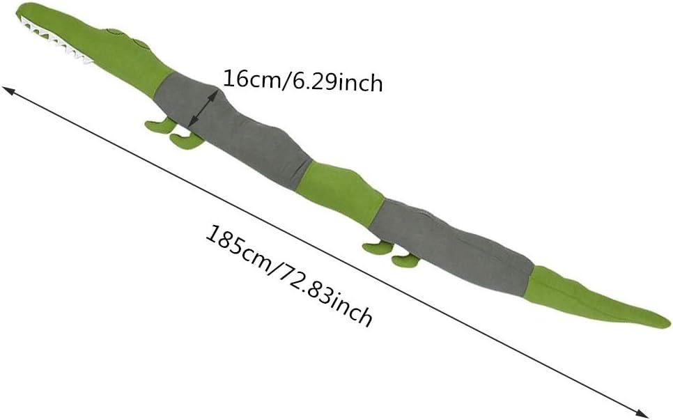 jouet crocodile tour de lit doux pour b/éb/é oreiller Bollaer Tour de lit pour tout-petits