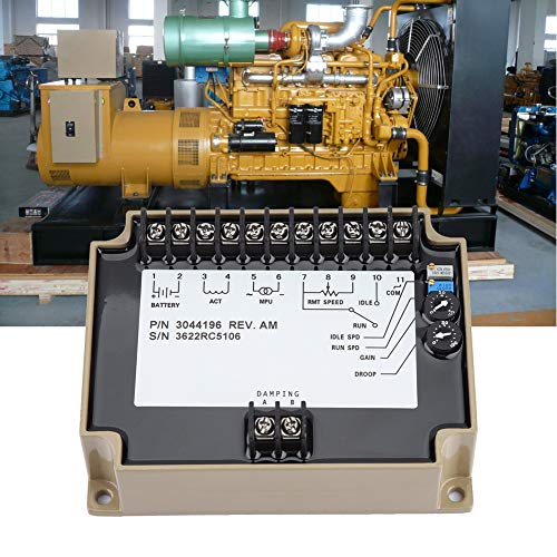 Generator Speed Controller, Electronic Engine Speed Controller Governor  3044196 Generator Speed Control Board, 1KHz~6 5khz