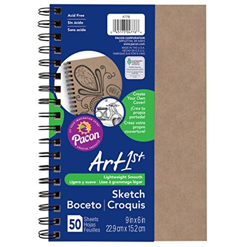 (Pacon PAC4776 Art1st Create Your Own Cover Sketch Diary, 9