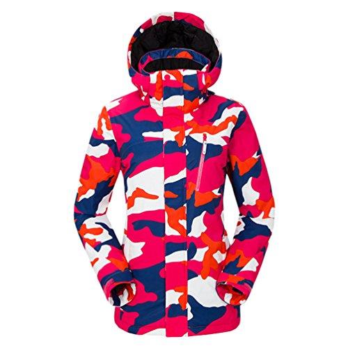 Outdoor Waterproof Men Sport Camouflage Jacket Ski Yuncai Pink Lovers Printing Women Women Coat Set Warm Winter Ski Windproof BnvYB1Iz