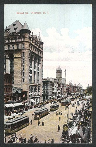 - Goerke Broad St Newark NJ postcard 1910