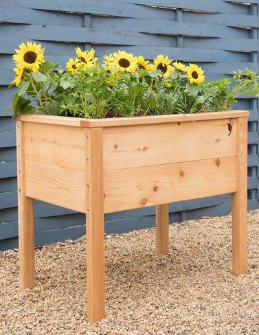 Gardener's Supply Company CedarLast Elevated Planter Box, 28217; x 38217; by Gardener's Supply Company