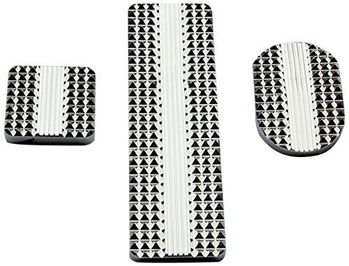 Real Wheels RW235-2-KW Diamond Billet Pedals (Set of 3) by Real Wheels