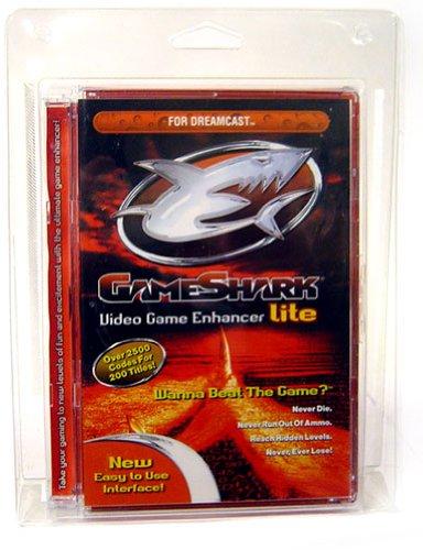 SEGA Dreamcast Gameshark Lite Video Game Enhancer