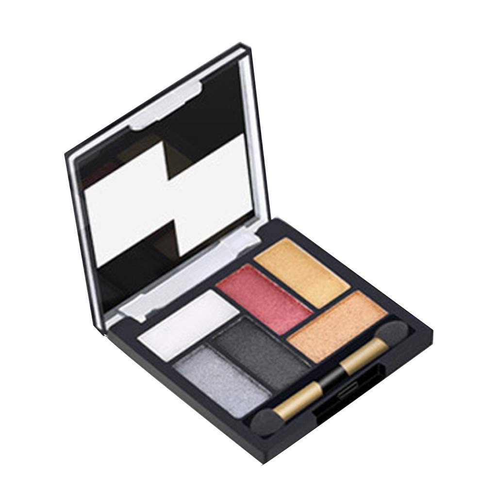callm Cosmetic Matte Eyeshadow Cream Makeup Palette Shimmer Set 6 Colors Eyeshadow