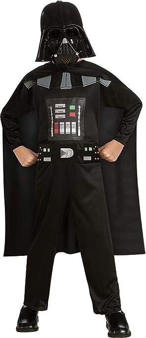 Rubies - Disfraz Darth Vader Star Wars de niño de 5 a 6 años (882848-MD)
