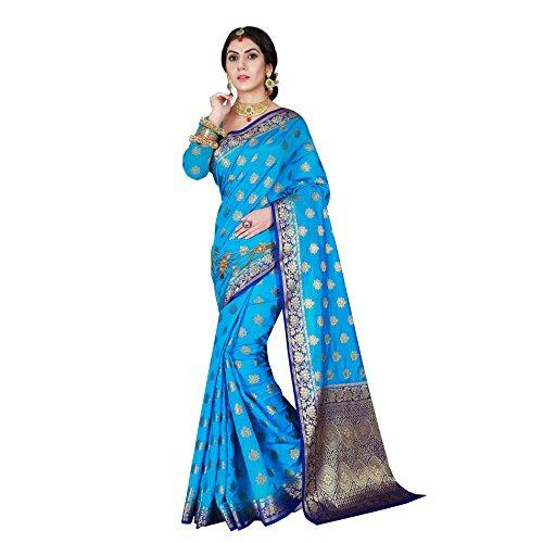 Georgette Indian Sari - 9