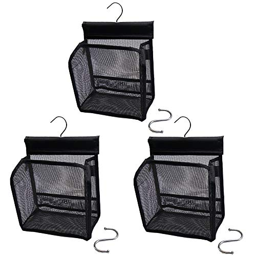 ALYER Mini Storage Basket, Serial Type Mesh Shower Caddy (3) by ALYER