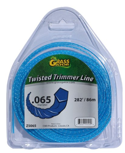 Grass Gator Z5065 Zip String Trimmer Line Pro Small Donut 282-Feet x .065 (Maxi Parts Replacement Jet)