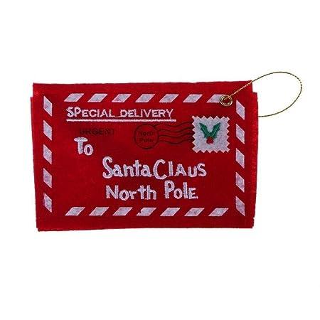 SGHV 10Pc Ambiente navideño Sobres Invitación navideña ...