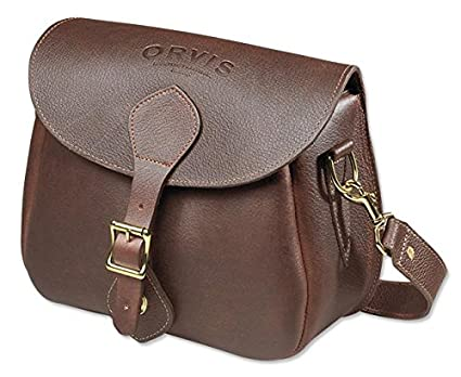 Orvis Gokey Leather Shell Bag