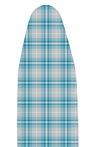 Polder IBC-9549-770 Heavy Use Replacement Ironing Board Pad and Cover, Blue Plaid by Polder