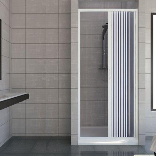41 opinioni per Porta doccia 90 CM in PVC mod. Vergine con apertura laterale Bianco Pastello