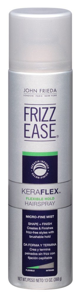 John Frieda Frizz Ease Hairspray Kera Flex 13 Ounce Aero (384ml) (6 Pack)