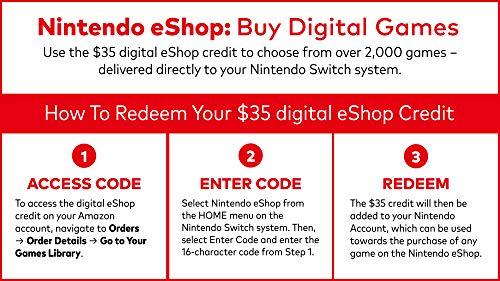 51R7%2BUQdO L - Nintendo Switch - Gray Joy-Con + $35 Nintendo eShop Gift Card [Digital Code]