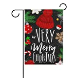 My Daily A Very Merry Christmas Decorative Double Sided House Flag 28 x 40 inch