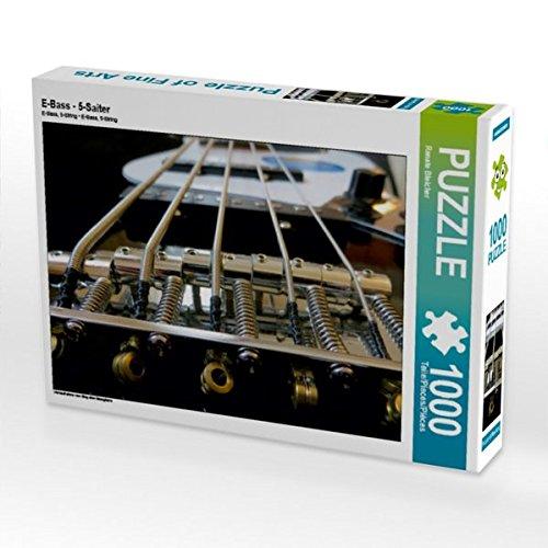 E-Bass - 5-Saiter 1000 Teile Puzzle Quer