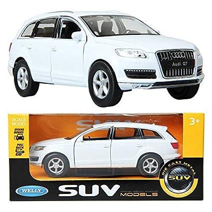 Amazon Welly 133 2010 Audi Q7 White Children Toy Die Cast