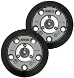 DeWALT DWE6401DS Shroud Replacement (2 Pack) 13904 Velcro 5'' Backing Pad (5 Holes) # N121668-2pk