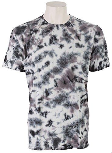 NEFF Men's Subdye Wash T-Shirt, Black, (Skat Shirt)