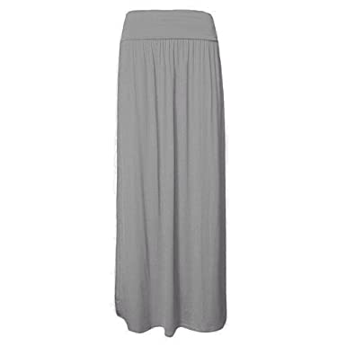 ZEE FASHION - Falda - para Mujer Gris Plateado XXX-Large (52-54 ...