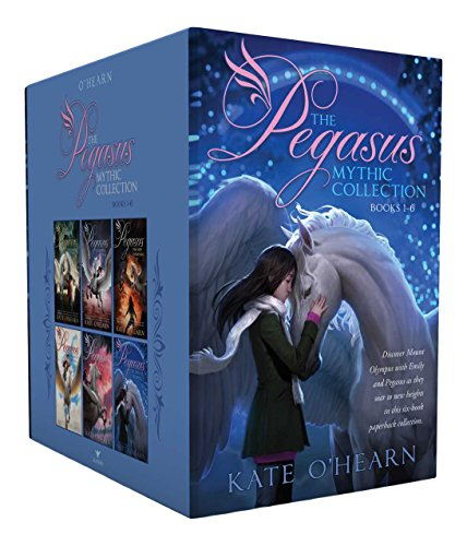 The Pegasus Mythic Collection Books 1-6: The Flame of Olympus; Olympus at War; The New Olympians; Origins of Olympus; Rise of the Titans; The End of Olympus (Pegasus Flame Of Olympus)