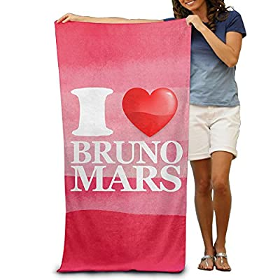 "I Love Bruno Mars 2015 AMA Singer Of The Year 31.5""51""Pool Beach Towel"