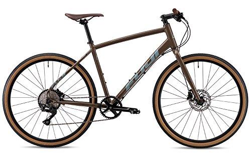 FUJI(フジ) RAFFISTA 10段変速 クロスバイク 19RFSTGR17 KHAKI 17