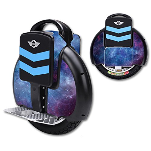 MightySkins Skin Compatible with TG-F3 Self Balancing one Wheel Electric Unicycle Scooter wrap Cover Sticker Nebula