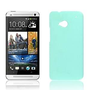 Modelo azul de plástico duro de nuevo caso de Lichee Guardia Shell para HTC uno M7