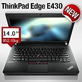 【送料無料】lenovo ThinkPad Edge E430:第3世代インテル Core i5プロセッサー、大容量メモリ搭載バリューパッケージ(14.0型/Core i5/4GBメモリー/内蔵カメラ) 【レノボ直販ノートパソコン】(3254CTO) (Win7Home,液晶光沢なし:ブラック, Officeなし)