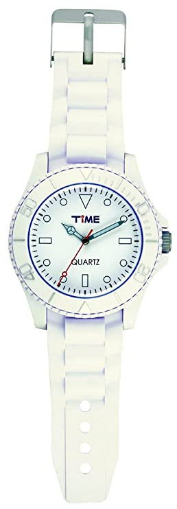 Pendule Horloge Murale A Quartz Design Montre Geante Coloris Blanc