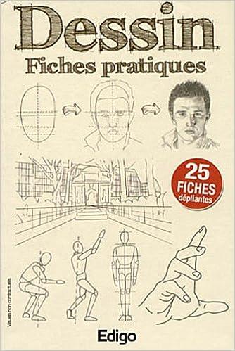 Lire en ligne Dessin : Fiches pratiques - 25 fiches dépliantes pdf ebook