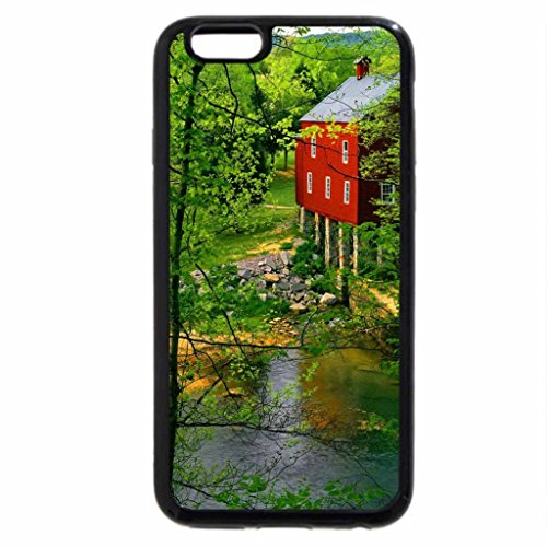 iPhone 6S / iPhone 6 Case (Black) Grist mill on the Wolf river