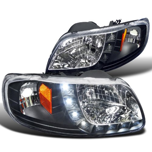 Spec D Tuning 2LH F150971PCJM RS Expedition Headlights