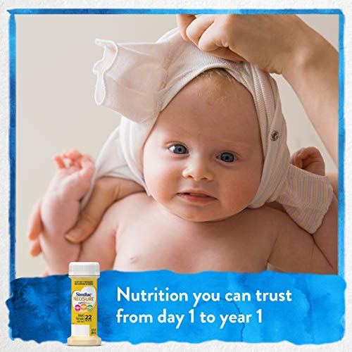 Similac NeoSure Infant Formula with Iron, For Babies Born Prematurely, Ready-to-Feed bottles, 2 ounces (48 bottles) by Similac (Image #3)