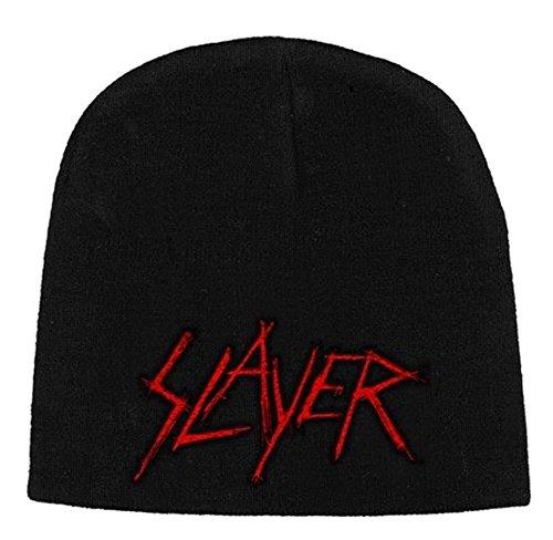Slayer - Gorro de punto - para hombre Negro negro Talla única