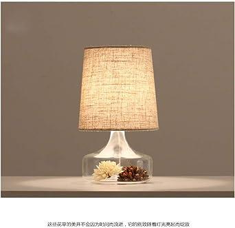 LED lámpara de mesa lámpara de mesa jardín lámpara de noche beige ...