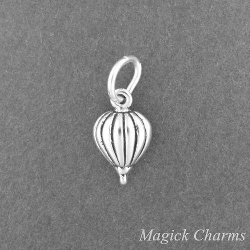 925 Sterling Silver HOT AIR Balloon Charm Miniature Jewelry Making Supply, Pendant, Charms, Bracelet, DIY Crafting by Wholesale Charms