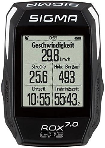 Sigma Sport 01004 ROX GPS 7.0 - Ciclocomputador, Color Negro ...