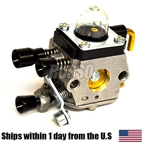 (Ship from USA) Carburetor For ZAMA C1Q-S97A S186 S97 Carb STIHL FS45 FS55 trimmer 4140 120 0619 /ITEM NO#8Y-IFW81854231558