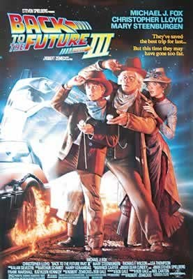 Regreso al futuro 3-Michael J. Fox-68,5 x 101,5 Cartel ...